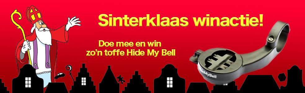 Winactie: Sinterklaas geeft een Hide My Bell weg