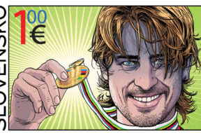 peter sagan postzegel slowakije