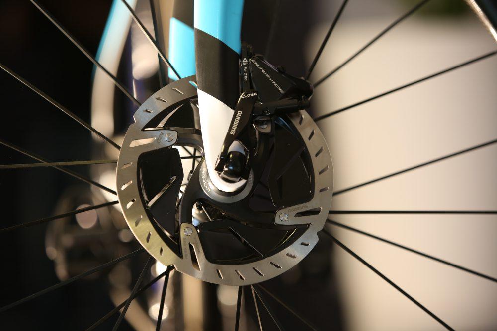 Shimano RP9100 disk brakes