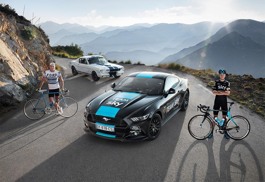 Deze bijzondere Ford neemt Team Sky mee naar de Tour