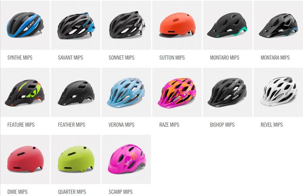 Giro helmen