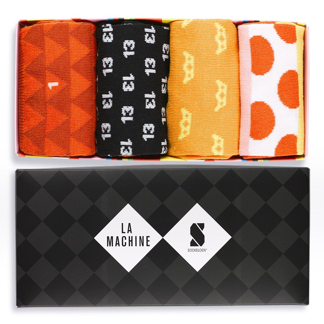 Sockeloen X La Machine Casual Gift Box