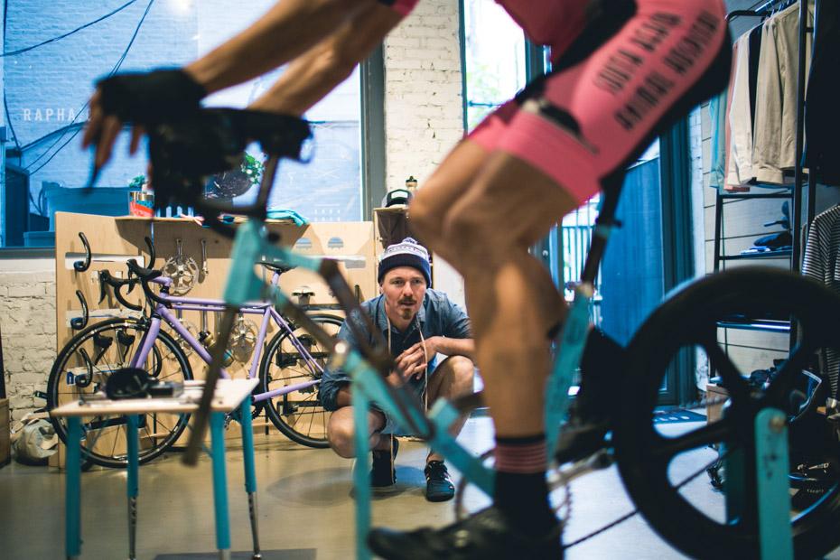 Speedvagen bike fitting tour; Europa editie.