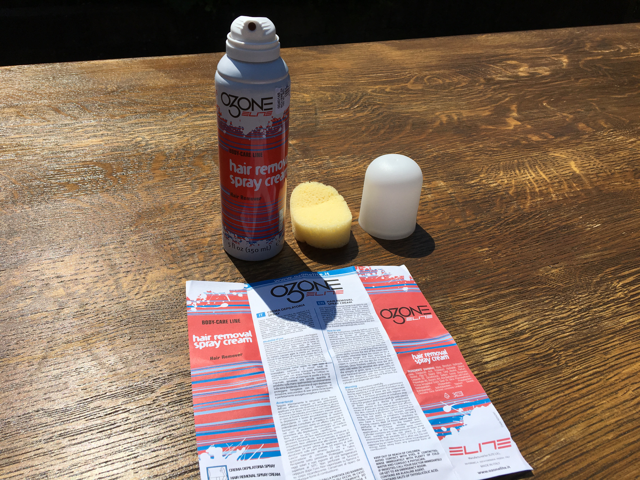 Test: Elite Ozone ontharingscrème