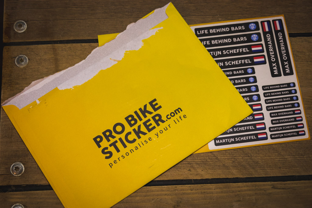 Test; Pro Bike Sticker